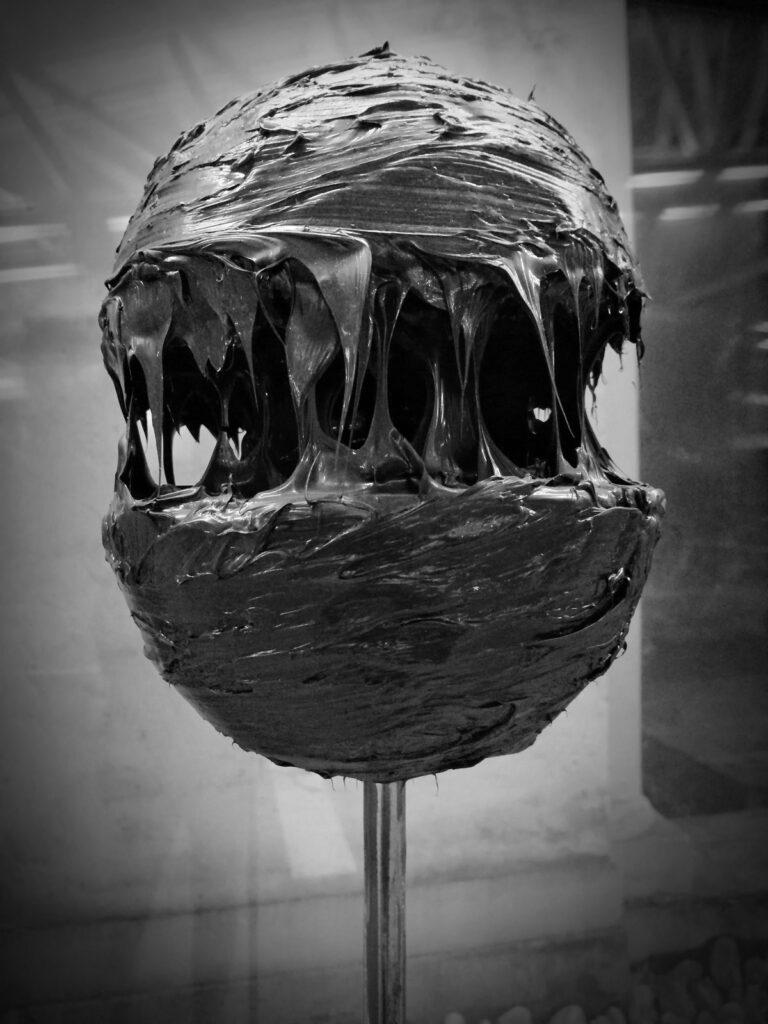 Materia - silicone su ferro