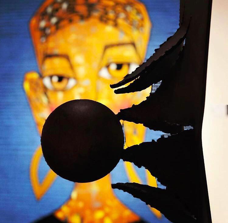 Potenza - acciaio corten cm 168x70 Tobia art gallery